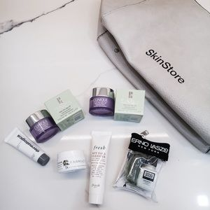 🆕 6 cleaning skincare + large pouch